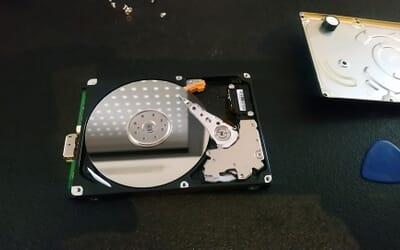 Déblocage de disque dur